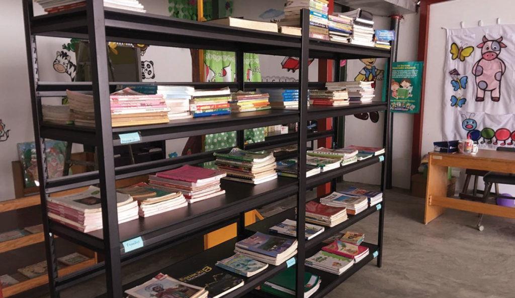 nueva biblioteca en centro fabretto
